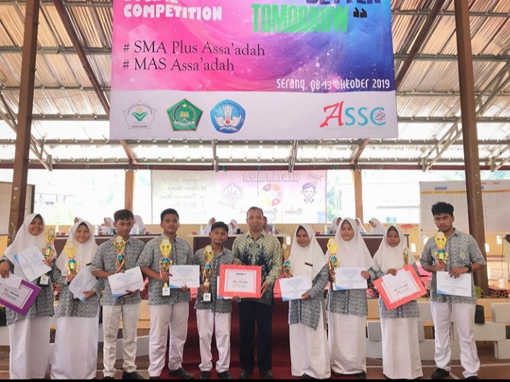 """Assa'adah Science and Social Competition (ASSC) 2019 dengan tema : """"Learn Today For A Better Tomorrow"""""""